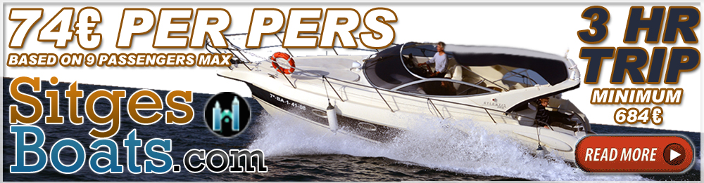 atlantis 315 sc – sitges boat hire charter